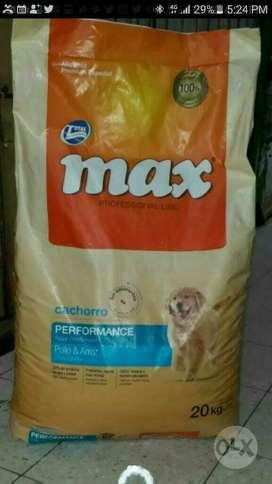 Max Cachorros X 20 Kilos