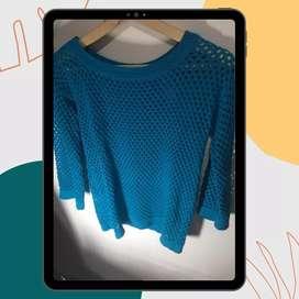 Sweater calado talle único