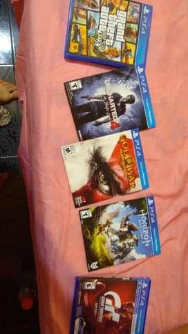 Vendo o permuto juegos PS4