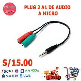 PLUG 2 A 1 DE MICRO A MICRO