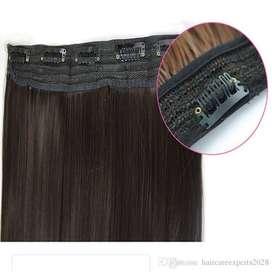 Extensiones de cabello negras covrizas balaya rubias rojas