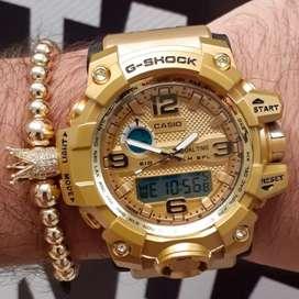 Reloj para hombre dorado