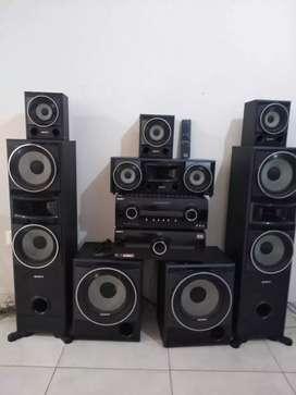 Sony muteki HT-ddw5500 home 6.2 1510w
