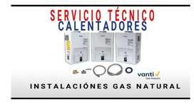 Servicio técnico especializado en Calentadores de agua a gas