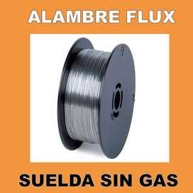 Rollo Alambre Flux Mig Mag 0,9mm 5kg Soldar Sin Gas Lusqtoff