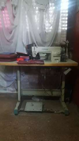 Máquina de coser industrial doble arrastre vendo