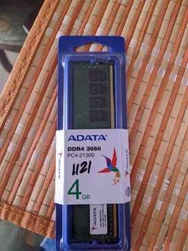 Ram ddr4 4gb 2666 MHz Adata
