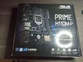 combo board asus con procesador intel g4560t de séptima generación