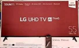"Vendo tv lg 4k 55"""