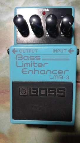 Vendo o Cambio Pedal de Bajo Bass Limiter Enahancer LMB3