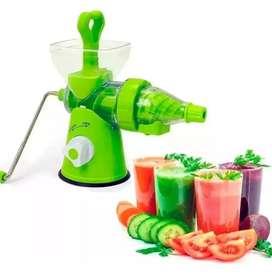 Molino extractor de frutas jugos manual alimentos