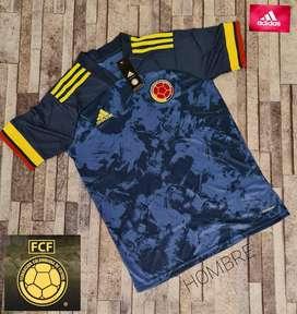 Camiseta Azul Selección Colombiaia