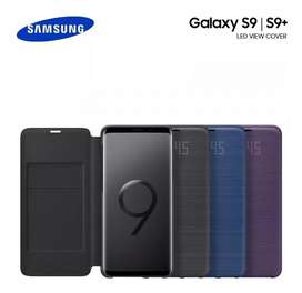 Protector Oficial Led View Flip Cover Galaxy S9 Y Plus I Negro *Tienda