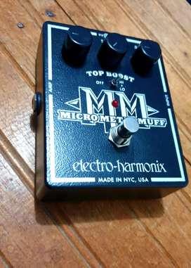 Electro Harmonix Micro Metal Muff Pedal de Guitarra