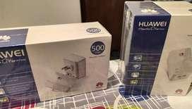Combo kit de punto de acceso powerline 500Mbps Huawei, incluye 2 PT500 y un PT530