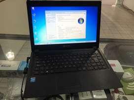 Notebook exo Celeron 2 gb ram disco solido