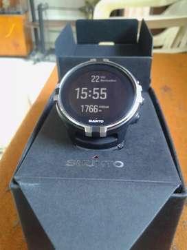 RELOJ GPS SUUNTO SPARTAN SPORT WRIST HR BARO STEALTH 1 año de uso