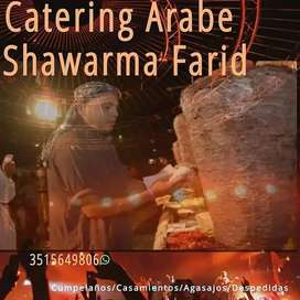 Catering comidas arabes Shawarma Farid