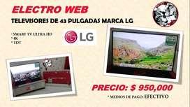"""Gran Promoción TV 43"""" LG"""