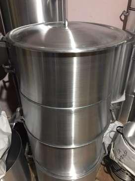 Cacerola n50 de 50litros aluminio gastronomico industrial