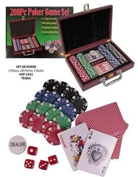 Poker set maleta