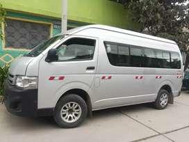 En venta Toyota hiace 2013