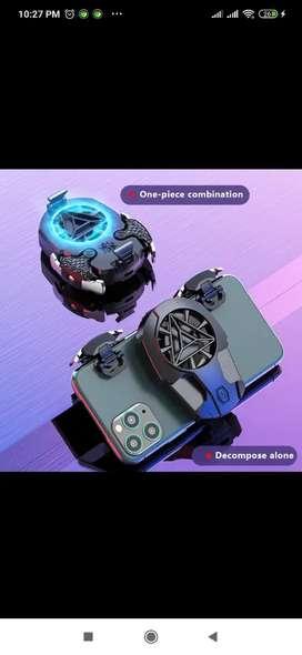Kit de gatillos gamer + base de enfriamiento
