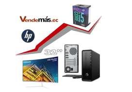 Computador Pc Hp Mini I5 9400 8gb 1tb Wifi Monitor 32