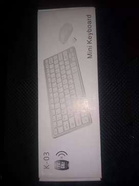 Vendo o cambio teclado inalámbrico