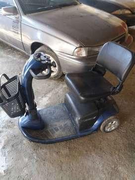 Silla de rueda eléctrica discapacitado