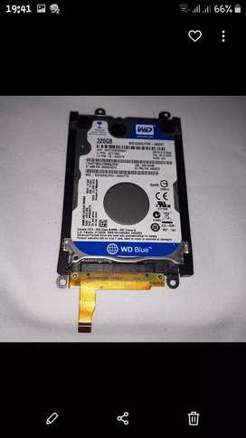 Disco duro notebook 320gb.sin uso