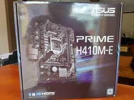 Placa ASUS PRIME H410M-E INTEL 10ma Generacion