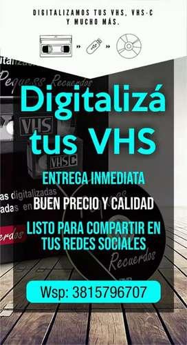 Digitalización de videos Vhs