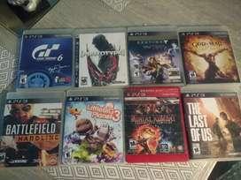 Combo juegos de PS3 originales