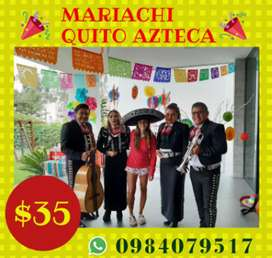 MARIACHIS SHOW EN QUITO LA ECUATORIANA