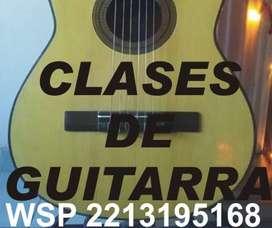 CLASES DE GUITARRA LA PLATA