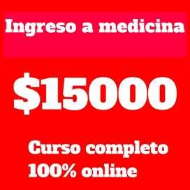 INGRESO COMPLETO A MEDICINA UNC-UCC