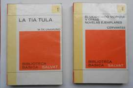 300.000. TOTAL 50 LIBROS ENCICLOPEDIA BÁSICA SALVAT. LITERATURA ARTE NOVELA.:300,000 PESOS, TODOS..