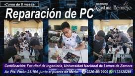 REPARACIÓN DE PC- Instituto Agustina Bermejo