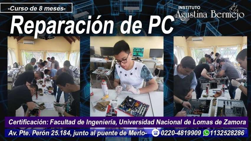 REPARACIÓN DE PC- Instituto Agustina Bermejo 0