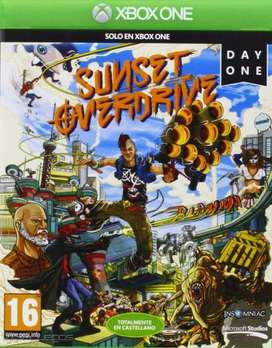 Sunset Overdrive Xbox One, Fisico