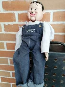 Hardy muñeco antiguo el gordo y flaco