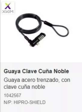 GUAYA  CLAVE XKIM 1,8 MTS NUEVA CUÑA DOBLE