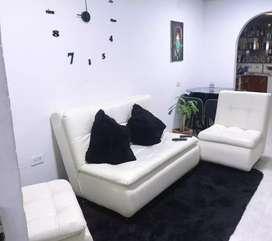 Se vende muebles y tapete