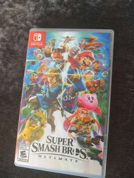 Super smash bros Ultimates Nintendo switch
