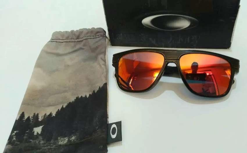 OAKLEY Breadbox Gafas De Sol Bronce Decay/Rubí Iridium FALLOUT 0