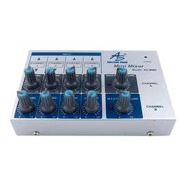 Mini Mixer A.S 8 Canales GANGA
