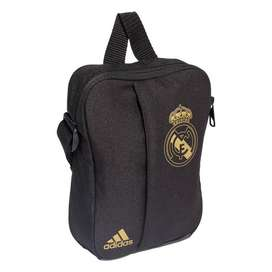 Bolso Manos Libre Real Madrid adidas Negro 100 Originales