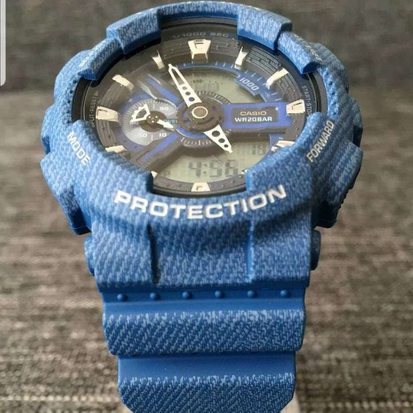 G Shock Ga110 Denim Blue 0