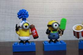 Vendo Minifiguras Minions Megabloks